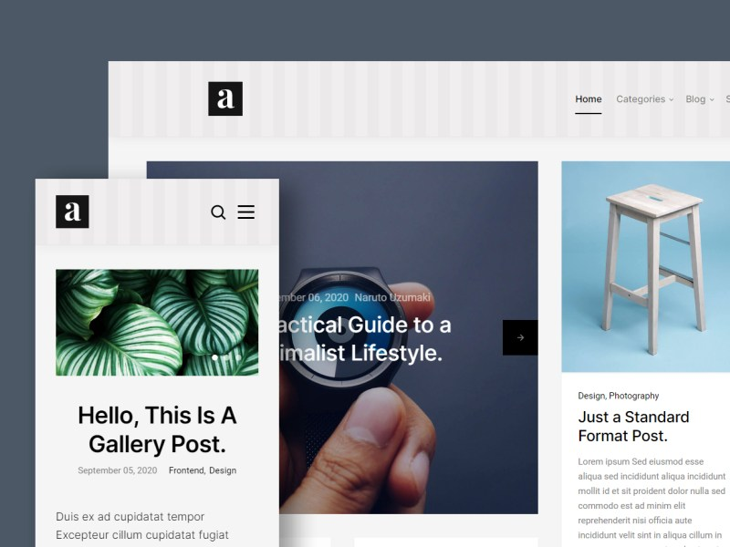 Abstract - Free HTML Website Template