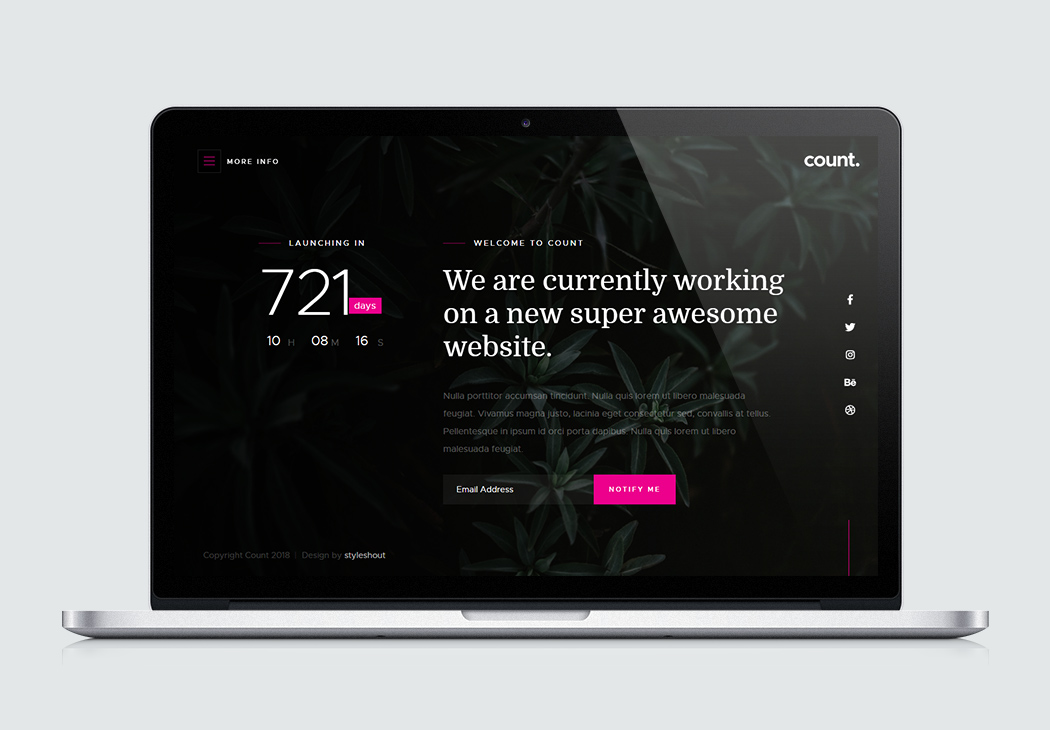 Free Responsive Website Templates Built On Html5 Css3