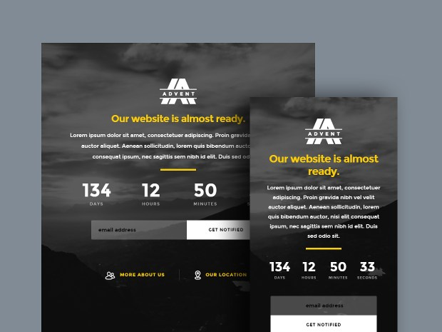 Free Website Template - Advent 02