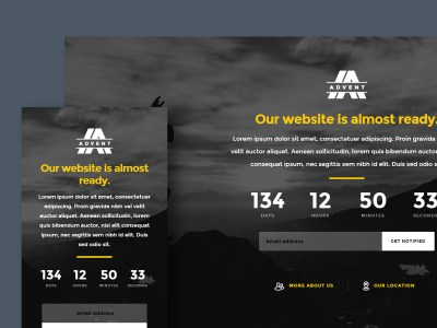 Free Website Template - Advent
