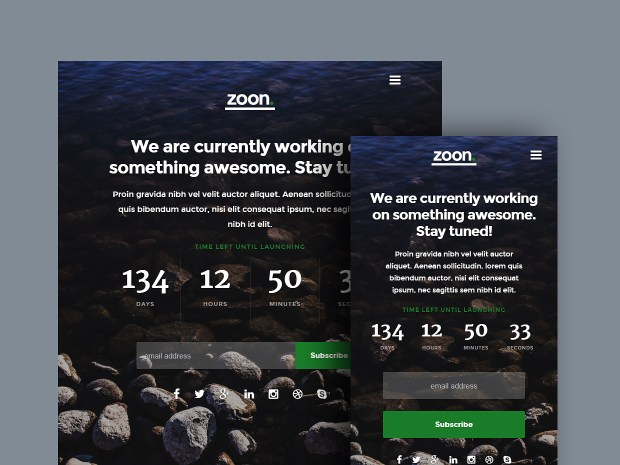 Zoon | High-Quality Free Website Template by Styleshout