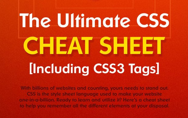 Comprehensive CSS3 Cheat Sheet + PDF