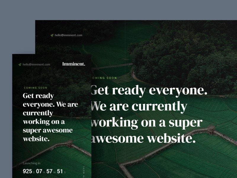 Free Website Template - Imminent