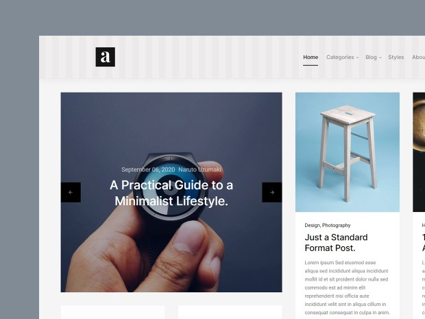 Abstract - Free HTML Website Template 02