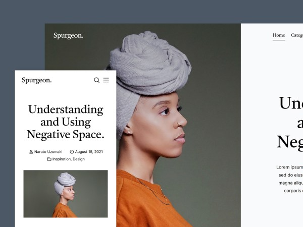 Spurgeon - Free HTML Blog Template
