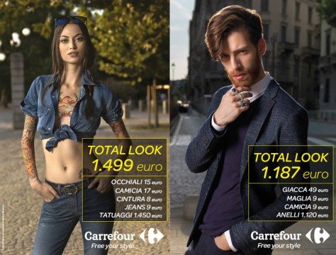 Carrefour Total Look