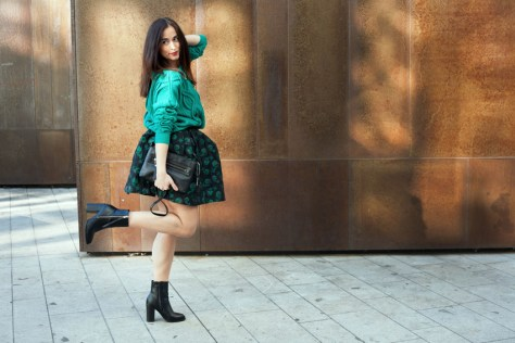 look-maglione-verde-maryling