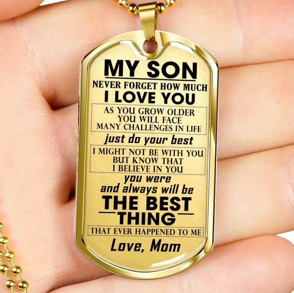 My Son Never Forget That I love You Necklace - FREE SHIPPING ! - stylesoth