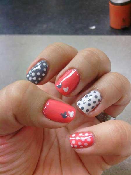 Nails 2017 Nail Art Design Disney Mouse