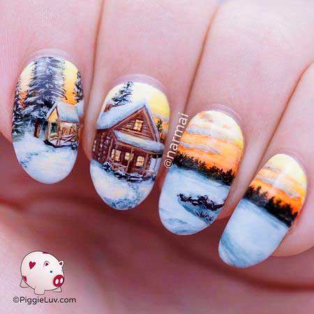 19 Nail Art Winter 2017