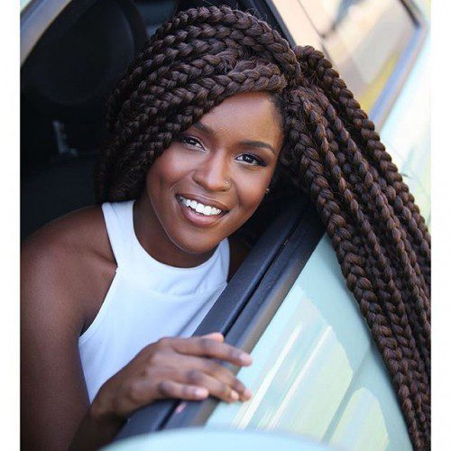 23 Ultimate Big Box Braids Hairstyles With Images Amp Tutorials