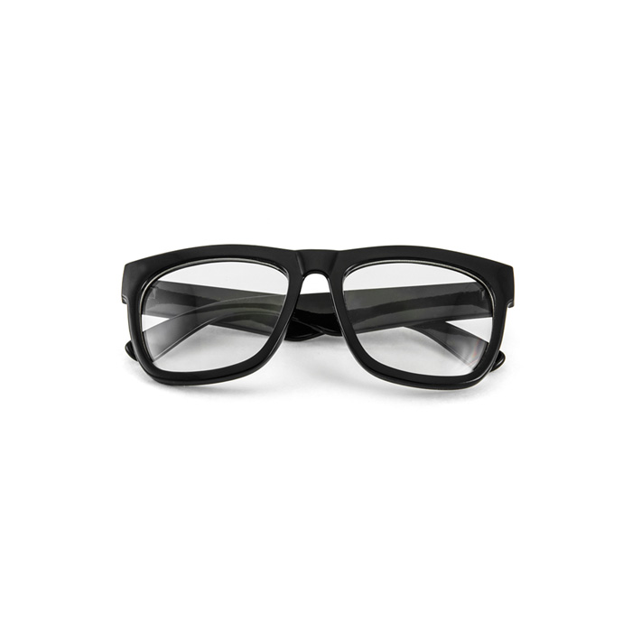 Thick Rimmed Large Frame Nerd Clear Glasses Sunglasses