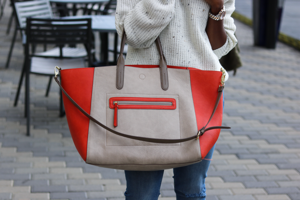 over sized tote