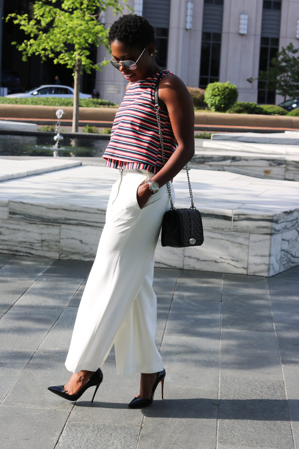 style synopsis chic in culottes