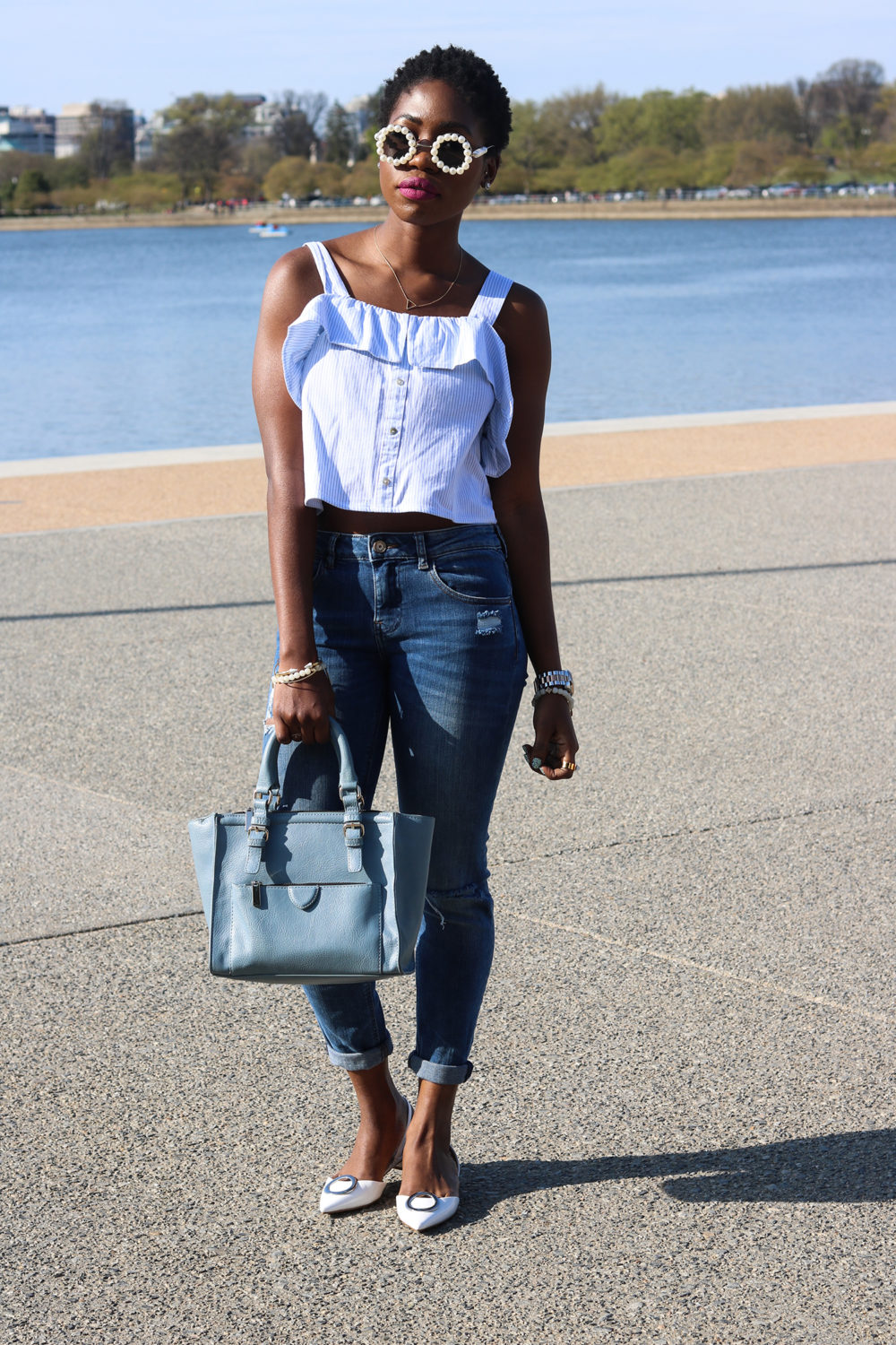 style synopsis_ crop top and denim