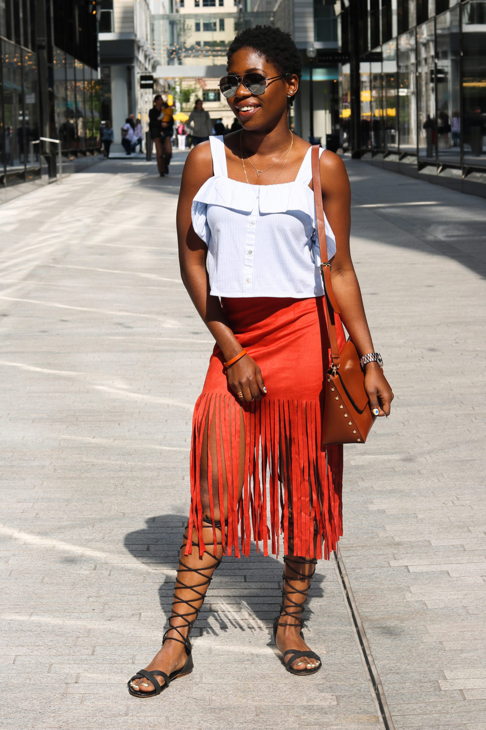 style synopsis chic suede skirt