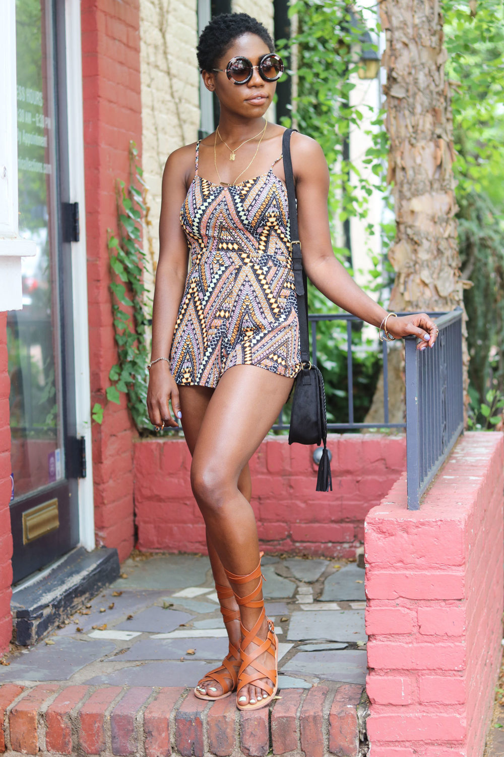 style synopsis tribal playsuit