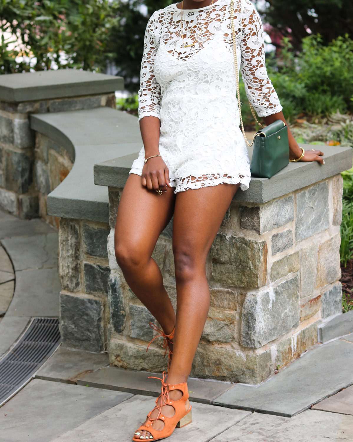 style synopsis white romper