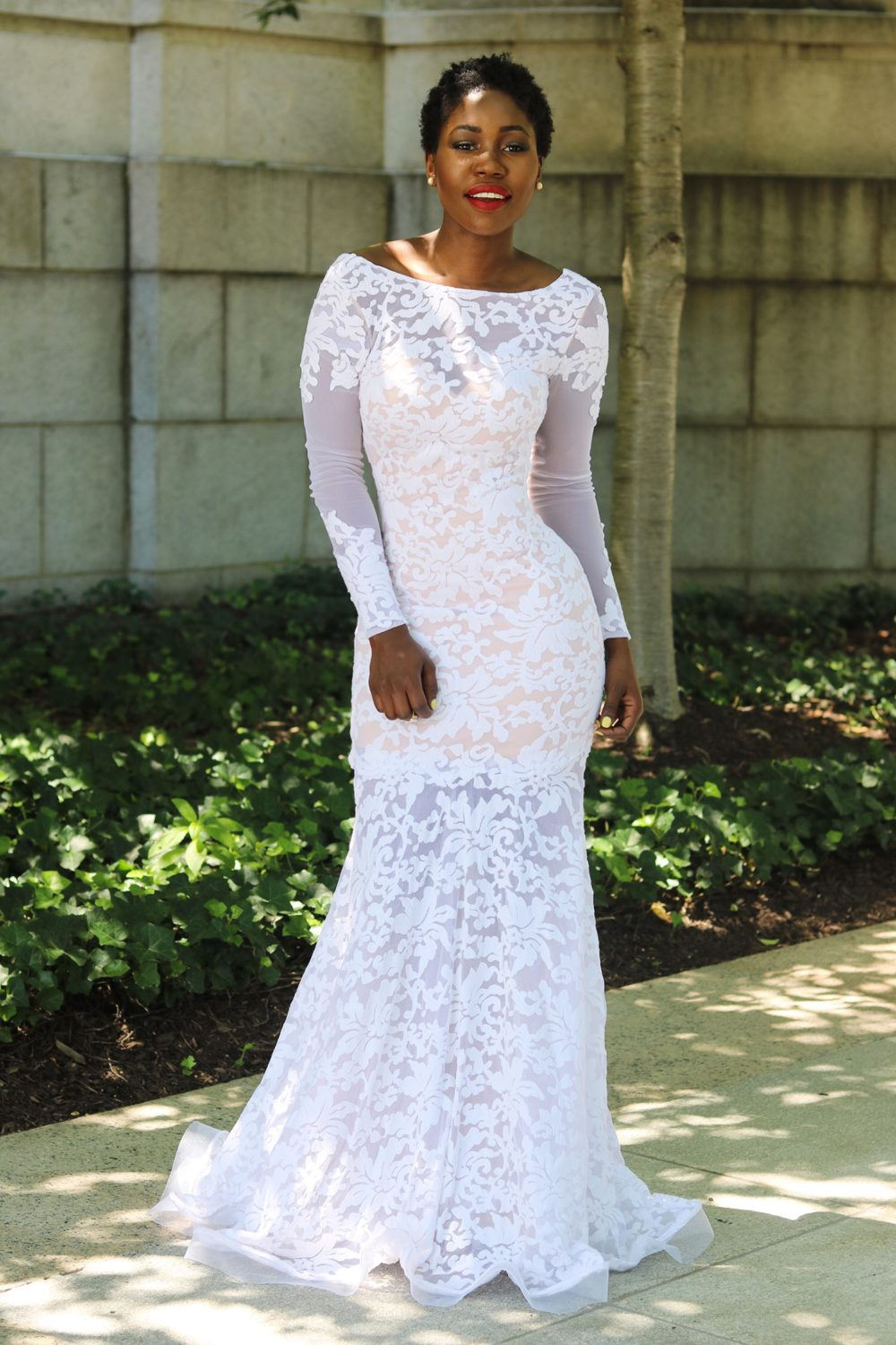 style synopsis wedding gown