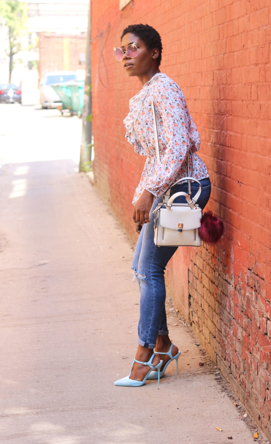 style synopsis flower print look