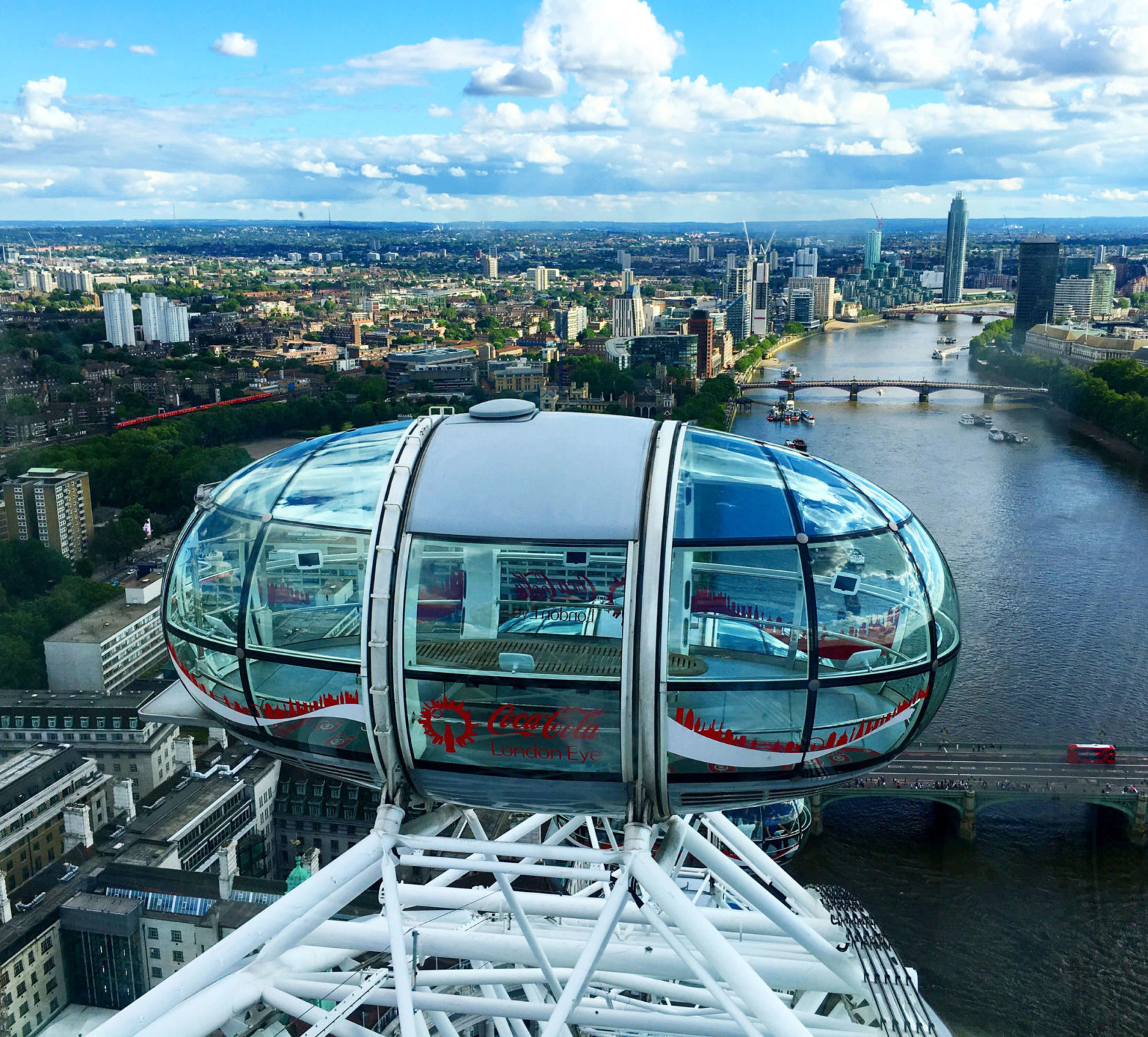 style synopsis on the London Eye