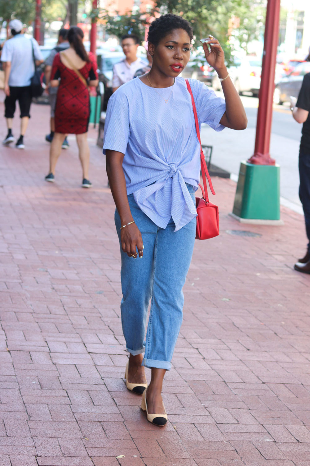 style synopsis blue outfit ideas