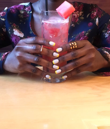 style synopsis yellow nail styles
