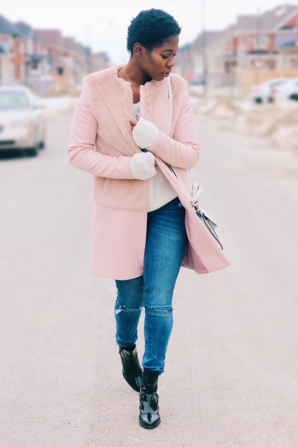 style-synopsis-contrast-pink-coat-ankle-boots
