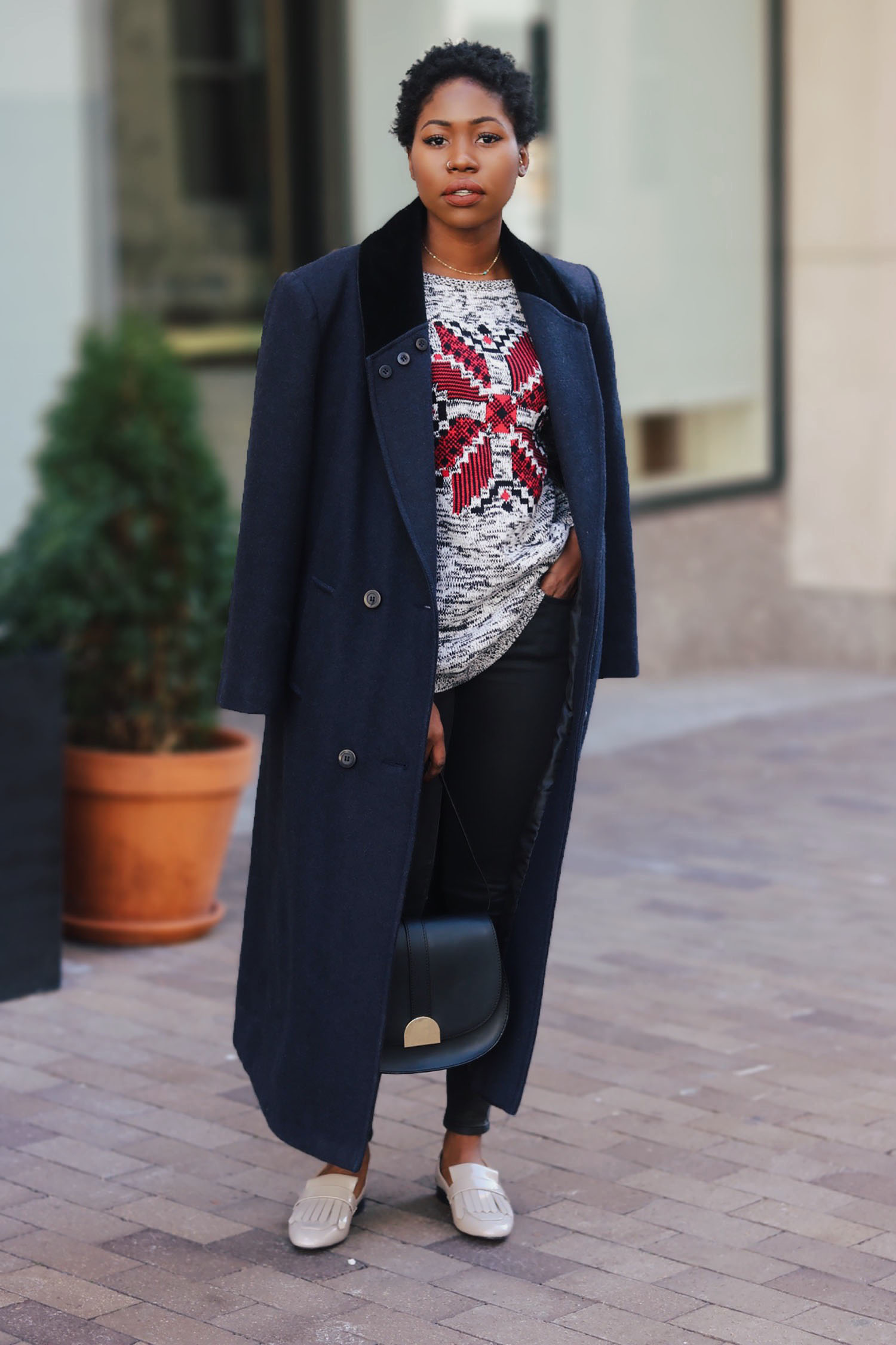 LOAFERS & OVERSIZED LONG COAT | Style Synopsis