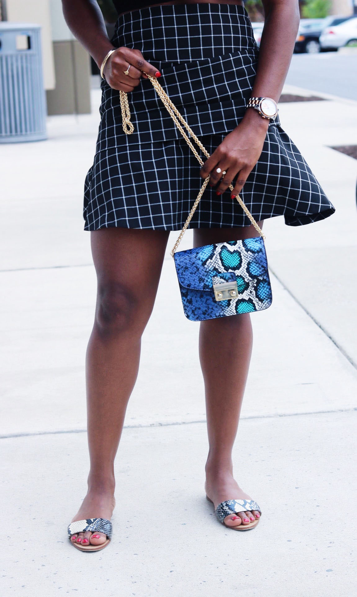 style-synopsis-check-flared-skirt-summer-look.