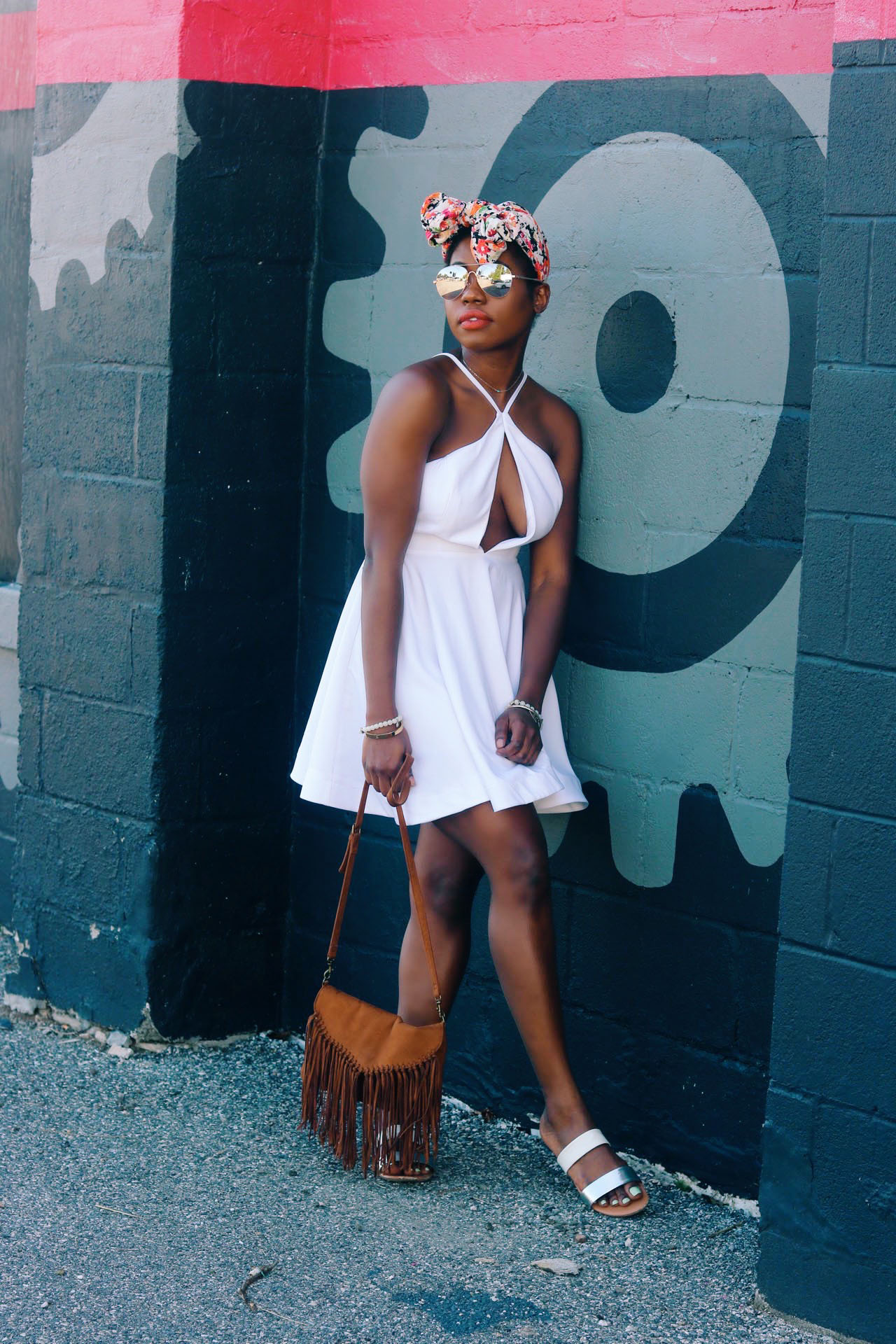 style-synopsis-skater-dress-floral-head-wrap