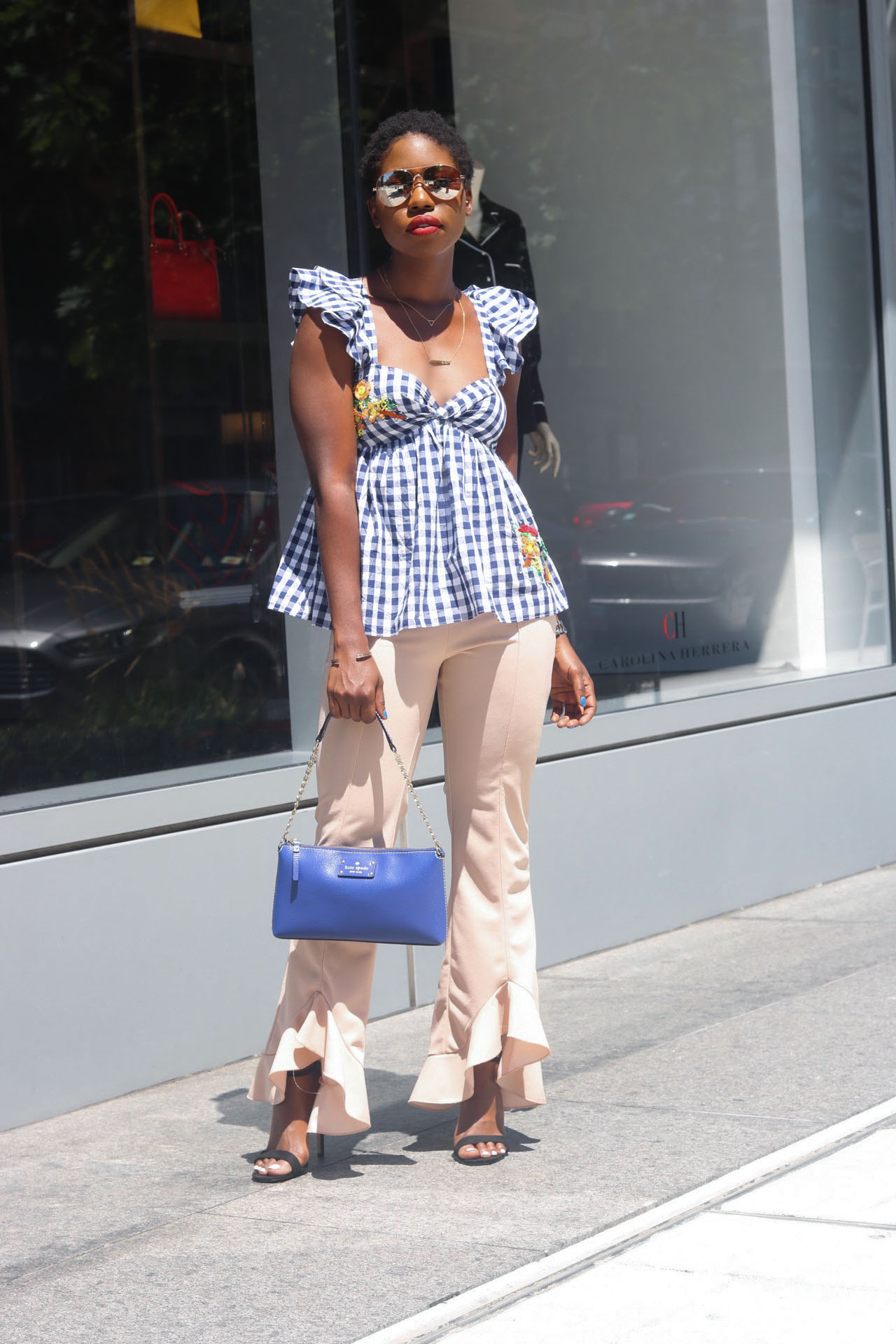 style-synopsis-frill-gingham-top-frill-crop-pants