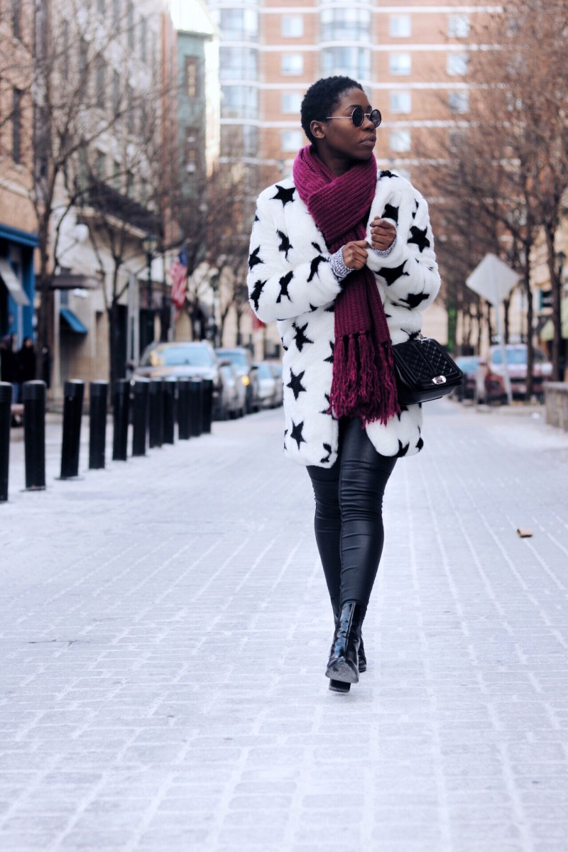 HOW TO STYLE A WINTER FUR COATS