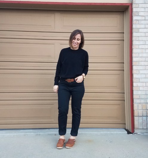 Fall outfit 12_4 Everlane cashmere and denim