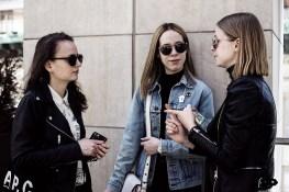 Elena, Melissa and Janne