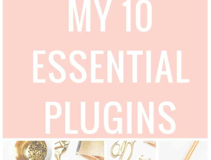 My 10 Essential Wordpress Blogging Plugins list. I've gone through many plugins in my four years of blogging. These 10 are my top choices for optimizing my content creation and promotion and grow my blog traffic.
