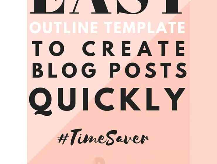 Creating a Blog Post can and should be easy! Once you have a subject you're passionate about, just follow an outline template like in this blog writing method, to produce content quicker than you ever imagined. Click to follow the step-by-step guide.