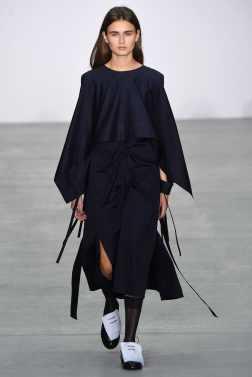 Eudon Choi London Spring 2017 Trends // Photo via Vogue.com