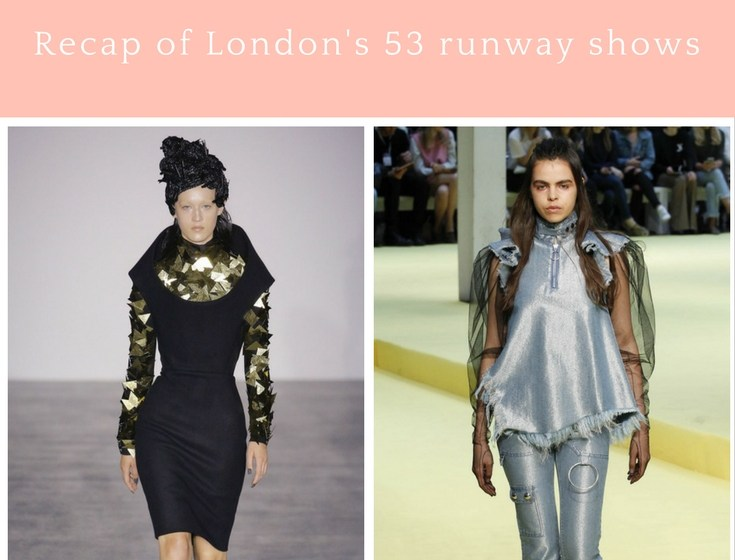 London Spring 2017 Trends LFW Recap by Style Tomes
