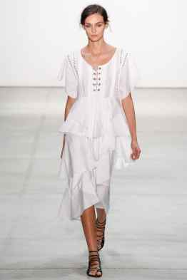 Marissa Webb SS17 New York Fashion Week Trends Image via Vogue.com