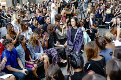 Backstage at Fashion Week: Style Tomes at Rebecca Minkoff, Chriselle Lim