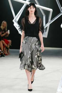 Salle Lapointe SS17 New York Fashion Week Trends Image via Vogue.com