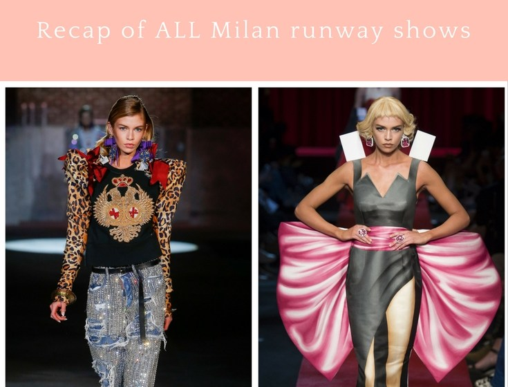 Spring 2017 Fashion Trends from Milan SS17 Season