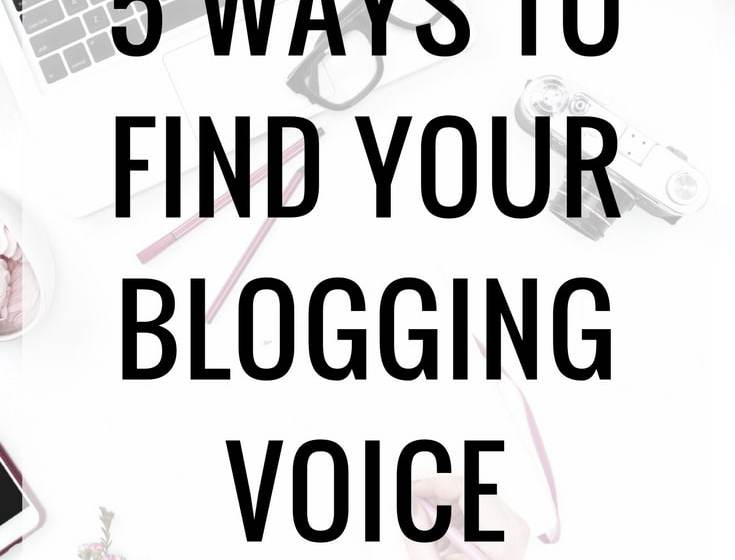 How To Find Your Blogging Voice
