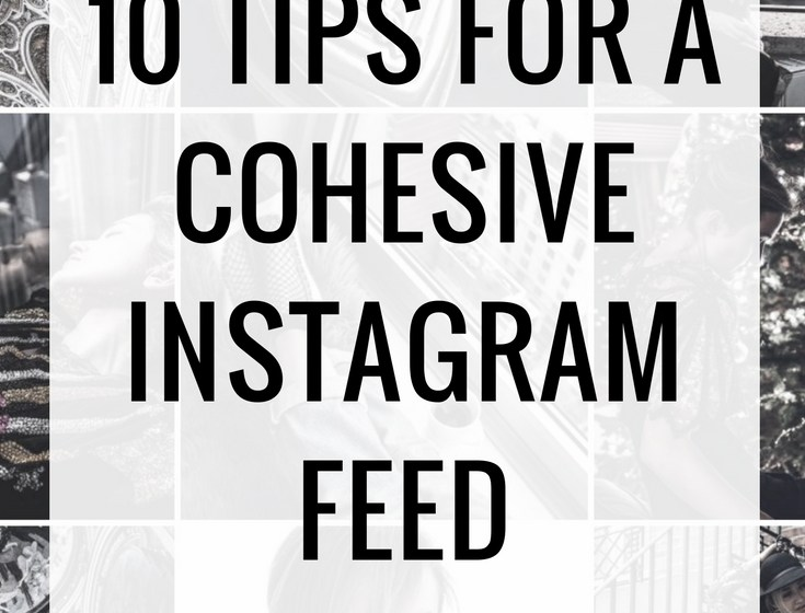 10 Tips For a More Cohesive Instagram Feed 1