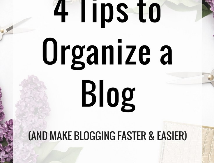 How To Organize A Blog 1