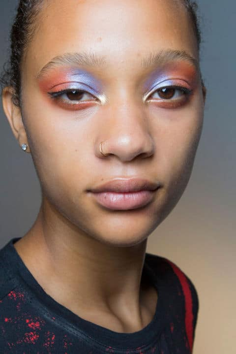 Jill Stuart Spring 2017 creative makeup beauty trends