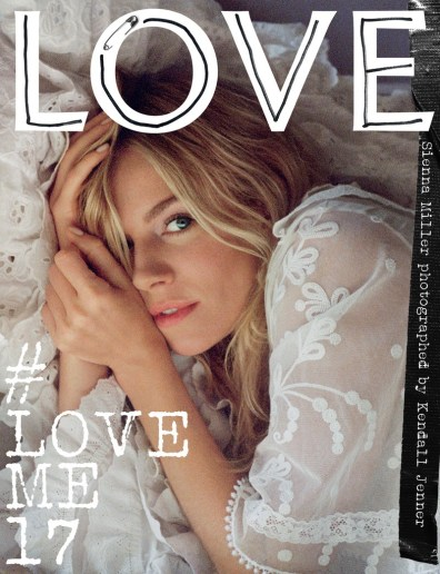 Love Magazine Kendall Jenner Photographer