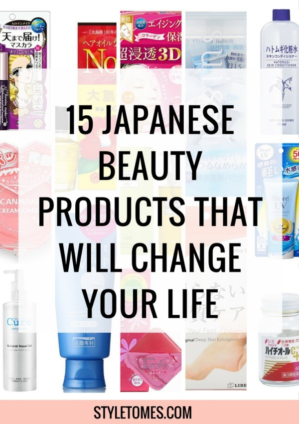 15 Japanese Beauty Products That Will Change Your Life