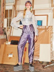 # Most Inspiring Looks from Resort 2018 Runway Collections 44